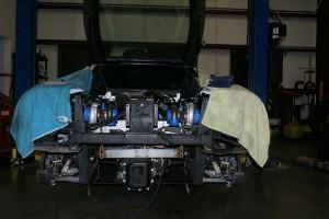 Ferrari setup from behind